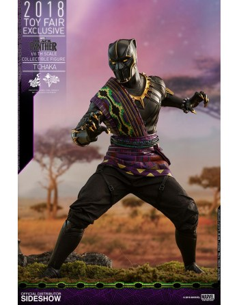 HOT TOYS 1/6 Marvel: Black...