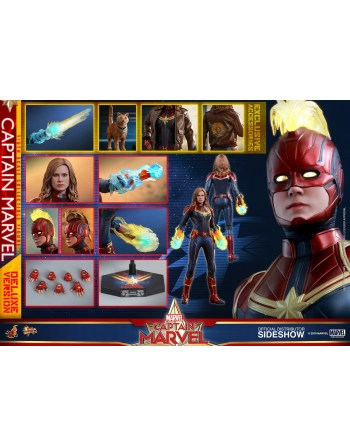 HOT TOYS 1/6 Captain Marvel...