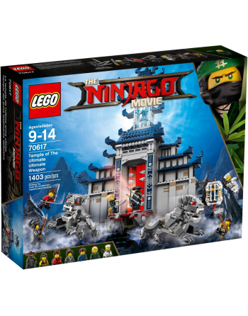 Lego The Ninjago Movie...